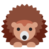 Hedgehog on Twitter Twemoji 2.3