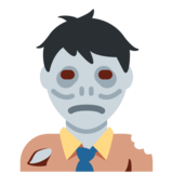 Man Zombie on Twitter Twemoji 2.3