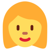 Woman on Twitter Twemoji 2.3