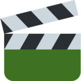 Clapper Board on Twitter Twemoji 2.4