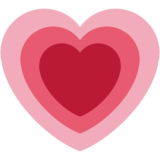 Growing Heart on Twitter Twemoji 2.4