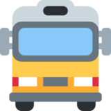 Oncoming Bus on Twitter Twemoji 2.4