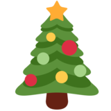 Christmas Tree on Twitter Twemoji 2.6