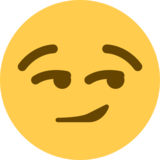 Smirking Face on Twitter Twemoji 2.6