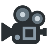 Movie Camera on Twitter Twemoji 11.0