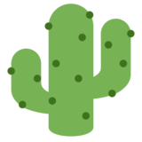 Cactus on Twitter Twemoji 1.0