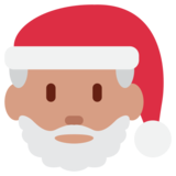 Santa Claus on Twitter Twemoji 1.0