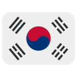 South Korea on Twitter Twemoji 1.0