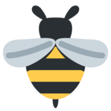Honeybee on Twitter Twemoji 1.0
