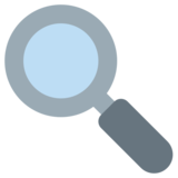 Left-Pointing Magnifying Glass on Twitter Twemoji 1.0