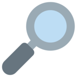 Right-Pointing Magnifying Glass on Twitter Twemoji 1.0