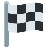 Chequered Flag on Twitter Twemoji 2.0