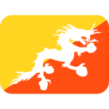 Bhutan on Twitter Twemoji 2.0