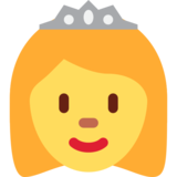 Princess on Twitter Twemoji 2.0