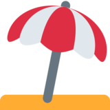 Umbrella on Ground on Twitter Twemoji 2.0