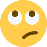 Face With Rolling Eyes on Twitter Twemoji 2.1