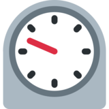 Timer Clock on Twitter Twemoji 2.1