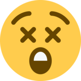 Astonished Face on Twitter Twemoji 2.1.2