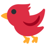 Bird on Twitter Twemoji 2.2