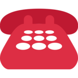 Telephone on Twitter Twemoji 2.2.3