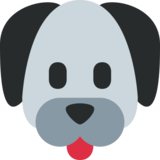 Dog Face on Twitter Twemoji 2.2.3