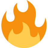 Fire on Twitter Twemoji 2.2.3