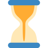 Hourglass With Flowing Sand on Twitter Twemoji 2.2.3