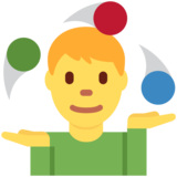 Person Juggling on Twitter Twemoji 2.2.3