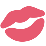 Kiss Mark on Twitter Twemoji 2.2.3