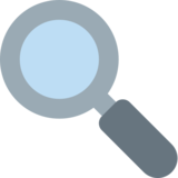 Left-Pointing Magnifying Glass on Twitter Twemoji 2.2.3
