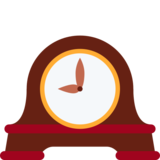 Mantelpiece Clock on Twitter Twemoji 2.2.3
