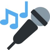 Microphone on Twitter Twemoji 2.2.3
