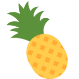 Pineapple on Twitter Twemoji 2.2.3