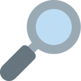 Right-Pointing Magnifying Glass on Twitter Twemoji 2.2.3