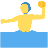 Person Playing Water Polo on Twitter Twemoji 2.2.3