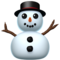 Snowman Without Snow on Apple