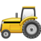 Tractor on Apple
