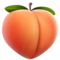 Peach on Apple