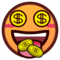 Money-Mouth Face on emojidex