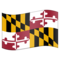 Flag for Maryland (US-MD) on Emojipedia