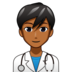 Man Health Worker: Medium-Dark Skin Tone