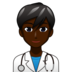Man Health Worker: Dark Skin Tone