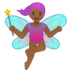 Woman Fairy: Medium-Dark Skin Tone