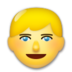 Blond-Haired Person