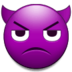 Angry Face With Horns