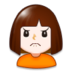 Person Frowning