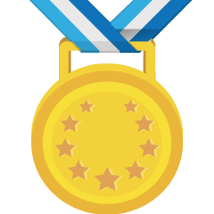 1st Place Medal on Skype Emoticons 1.2