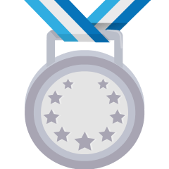 2nd Place Medal on Skype Emoticons 1.2