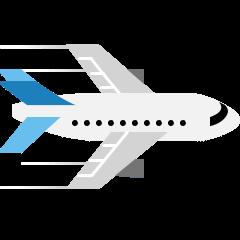 Airplane on Skype Emoticons 1.2