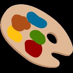 Artist Palette on Skype Emoticons 1.2